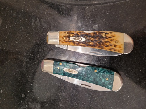 Case brand pocket knives