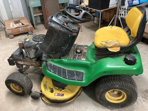 Engine/Deck/Frame John Deere X300